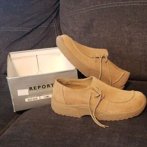 "Report ""Keep Sake"" shoes in Camel"